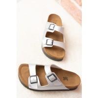 Fox Shoes Lame Kadın Terlik B777775409