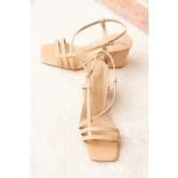 Fox Shoes Ten Kadın Topuklu Ayakkabı H922741009