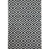 Aksu Halı Piramit Siyah Kaymaz Taban Jel Yolluk 100 x 100 cm