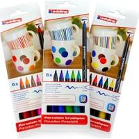 Edding 4200 Ana-Sıcak-Soğuk Renkler Porselen Kalemi 3'lü