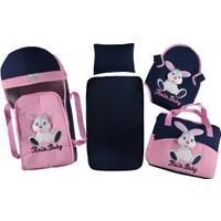Bebek Taşıma Set 4'lü - Pembe
