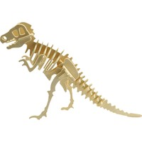 Pershang Ahşap Dinozor Trex 3 Boyutlu Yapboz
