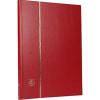Leuchtturm Pul Defteri Basic Beyaz Zemin Sert Kapak 8 Yaprak 16 Sayfa Kırmızı A4