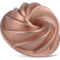 Thermoad Alüminyum Döküm Granit Kek Kalıbı Rüzgar Gülü / Rose Gold