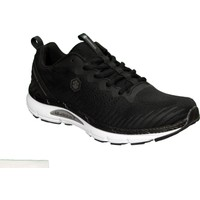 Lumberjack Erkek Siyah Sneaker Fileli Spor Yürüyüş Ayakkabı Cleon