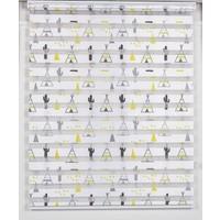 Odeon Iskandinav Çadırı Zebra Stor Perde 100 x 200 cm