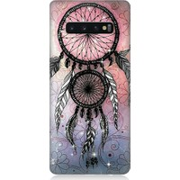 Teknomeg Samsung Galaxy S10 Plus Dream Catcher Desenli Silikon Kılıf
