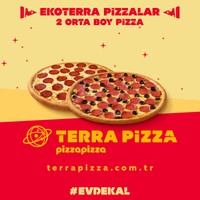 Terra Pizza 2 Orta Boy EkoTerra Pizza