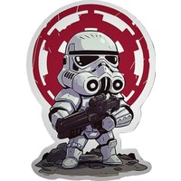 Sticker Fabrikası Star Wars Sticker 00235 11 x 15,5 cm Renkli