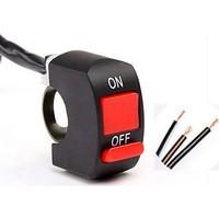 Cable Açma Kapama Düğmesi Motosiklet 3 Kablolu On Off Swich