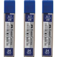 Faber-Castell 0.7 mm 2b 24'lü Uç - 3 Adet