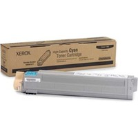 Xerox Phaser 7400 Mavi 18000 Sayfa Çapraz Renkli Toner