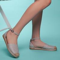 Muggo SBSW304 Kadın Espadril Ayakkabı