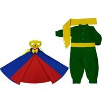 Kostümce Küçük Prens Pelerin Kostüm Seti Bebek