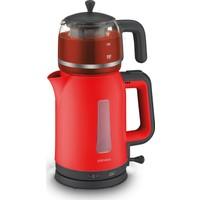 Goldmaster Papatya Çay Makinesi Kırmızı 7321