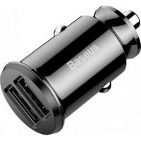 Baseus Grain Araç Çakmaklık Şarj Cihazı Çift USB 3.1A
