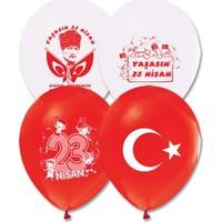 Balonevi 23 Nisan Baskılı Balon 10 Adet