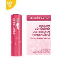 Blistex Lip Brilliance SPF 15 Renk ve Işıltı Etkili Nemlendirici Dudak Bakım