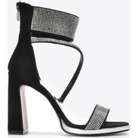Vizon Kadın Siyah-Süet Klasik Topuklu Ayakkabı VZN20-086Y