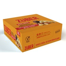 Züber Yer Fıstıklı Ve Çikolatalı Doğal Meyve Tatlısı 40 Gr X 12 Adet