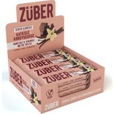 Züber Vanilyalı Çikolatalı Doğal Meyve Tatlısı 40 Gr