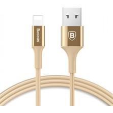 Baseus Işıklı 2.A Lisans Apple Lightning Şarj Kablosu