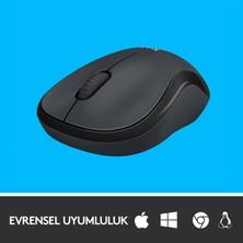 Logitech M220 Sessiz Kompakt Kablosuz Mouse - Siyah