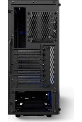 Nzxt CA-S340W-B5 Siyah/Mavi Elite Mid Kasa