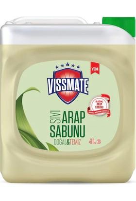 Vissmate Sıvı Arap Sabunu Beyaz Sabun Kokulu 4 lt