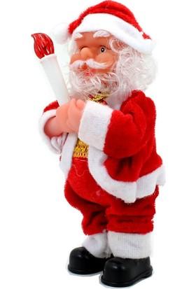 Süsle Bebek Parti Işıklı ve Müzikli Noel Baba
