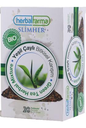 Herbal Farma Slimher Çay 20 Süzen Poşet
