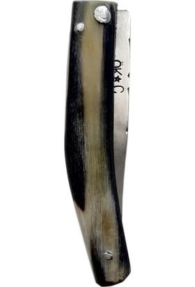 Hartlab Maraş El Yapımı Çelik Boynuz Saplı Çakı