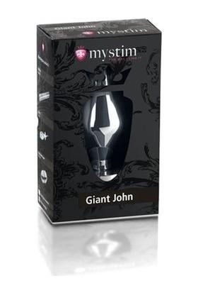 Mystim Giant John E-Stim Butt Plug Bdsm Fetiş