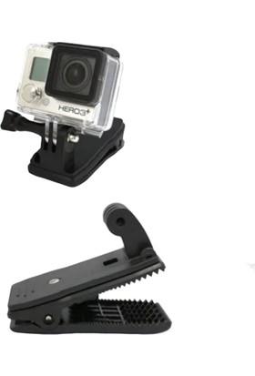 Aksiyon Butik Kamera 360 Derece Dönebilen Klips Kelepçe