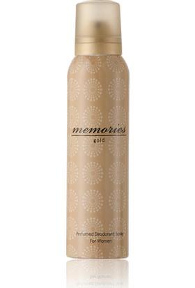 Huncalife Memories Gold Kadın Deodorant 150 Ml- Kadın Deodorantı