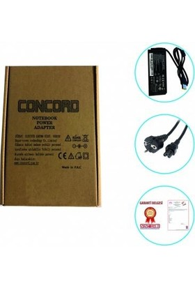 Concord Lenovo 20V 3.25A USB Uç Notebook Şarj Aleti Adaptör Laptop 65W