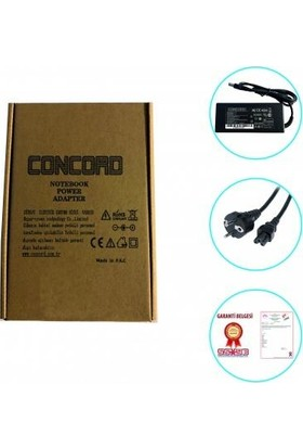 Concord Hp Dell 19.5V 4.74A 7.4*5.00 Notebook Şarj Aleti Adaptör Laptop 90W