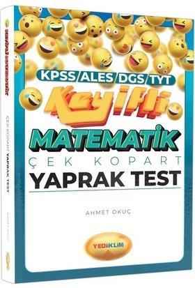 Yediiklim Yayınları KPSS ALES DGS TYT Keyifli Matematik Çek Kopart Yaprak Test