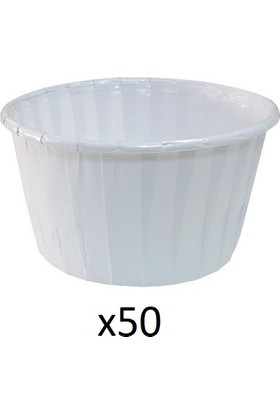 Hershey Beyaz Kek Kapsülü 50'li