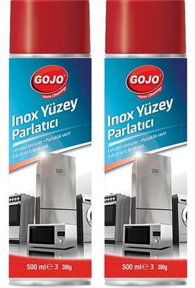 Gojo Inox Yüzey Parlatıcı 500 ml 2'li Set