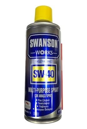 Swanson Works Sw-40 Çok Amaçlı Sprey
