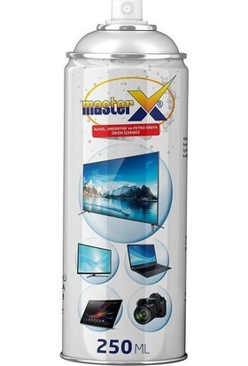 Masterx LCD Ekran Temizleme Köpüğü 250ML + Bez