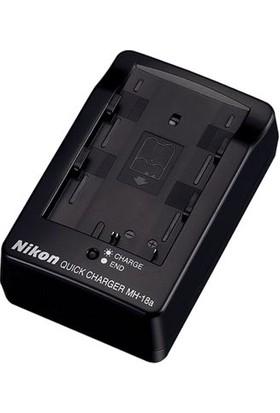Nikon MH-18A En-El3 Batarya Uyumlu Şarj Cihazı (Distribütör Garantili)