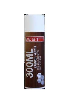 Best Spray Vernik Ceviz 300 ml Tekli