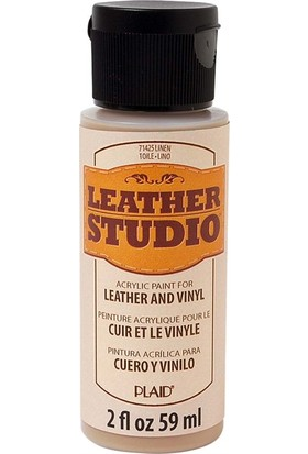 Plaid Leather Studio Deri Boyası 59 ml Keten