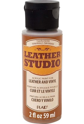 Plaid Leather Studio Deri Boyası 59 ml Paslı Metal