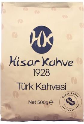 Hisar Türk Kahvesi Öğütülmüş 500 gr