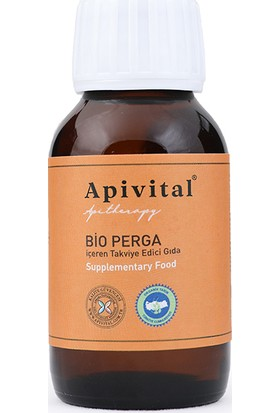 Apivital Organik Alkolsüz Sıvı Perga 50 ml