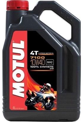 Motul 7100 10W40 4T 4 Litre Motosiklet Yağı (Üretim Yılı: 2019)