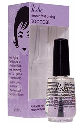 Poshe Jet Oje Kurutucu Top Coat 14 ml